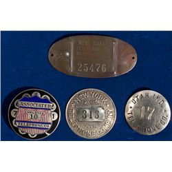 UT - Miscellaneous Telephone Co. Badges