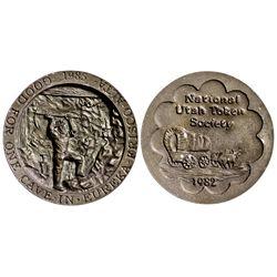 UT - 1982 - National Utah Token Society Medal