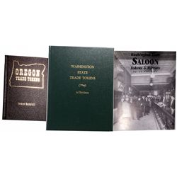 WA - 1991, 1992, 1998 - Northwestern States Trade Token Guide Books