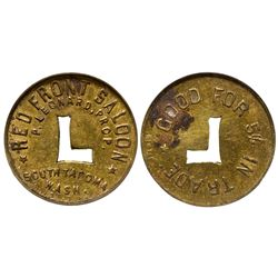 WA - South Tacoma,Pierce County - Red Front Saloon Token