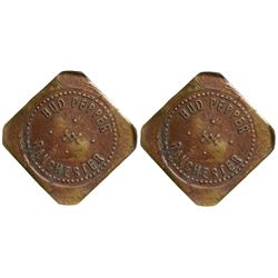 WY - Ranchester,Sheridan County - c1905 - Bud Pepper Token