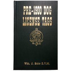 1993 - Dog License Tags Guide Book