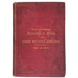 1890 - Lumber Mercantile Association Reference Book