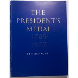 1977 - Medals, American Presidential: Book
