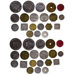 Midwestern-Eastern NCO and Military Tokens