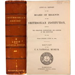 1902 - Smithsonian Institute, Annual Report of the Board of Regents (1902)