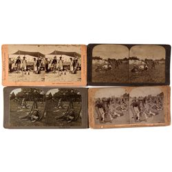 Spanish-American War Stereoview Photograph Group