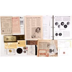 c1900, c1920, c1950 - Telephone and Telegraph Collection Balance