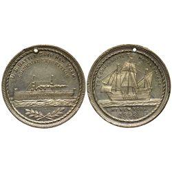 1893 - U.S. Battle Ship New York Medal