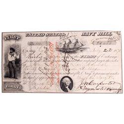July 22, 1871 - US Navy Bill