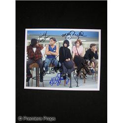 The Breakfast Club Signed Cast Photo