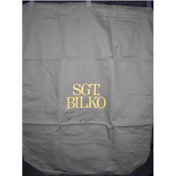 Glenne Headly Signed Sgt. Bilko Duffelbag