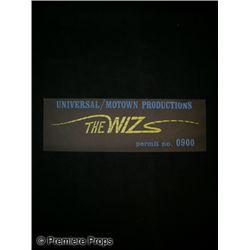 The Wiz Movie Crew Permit