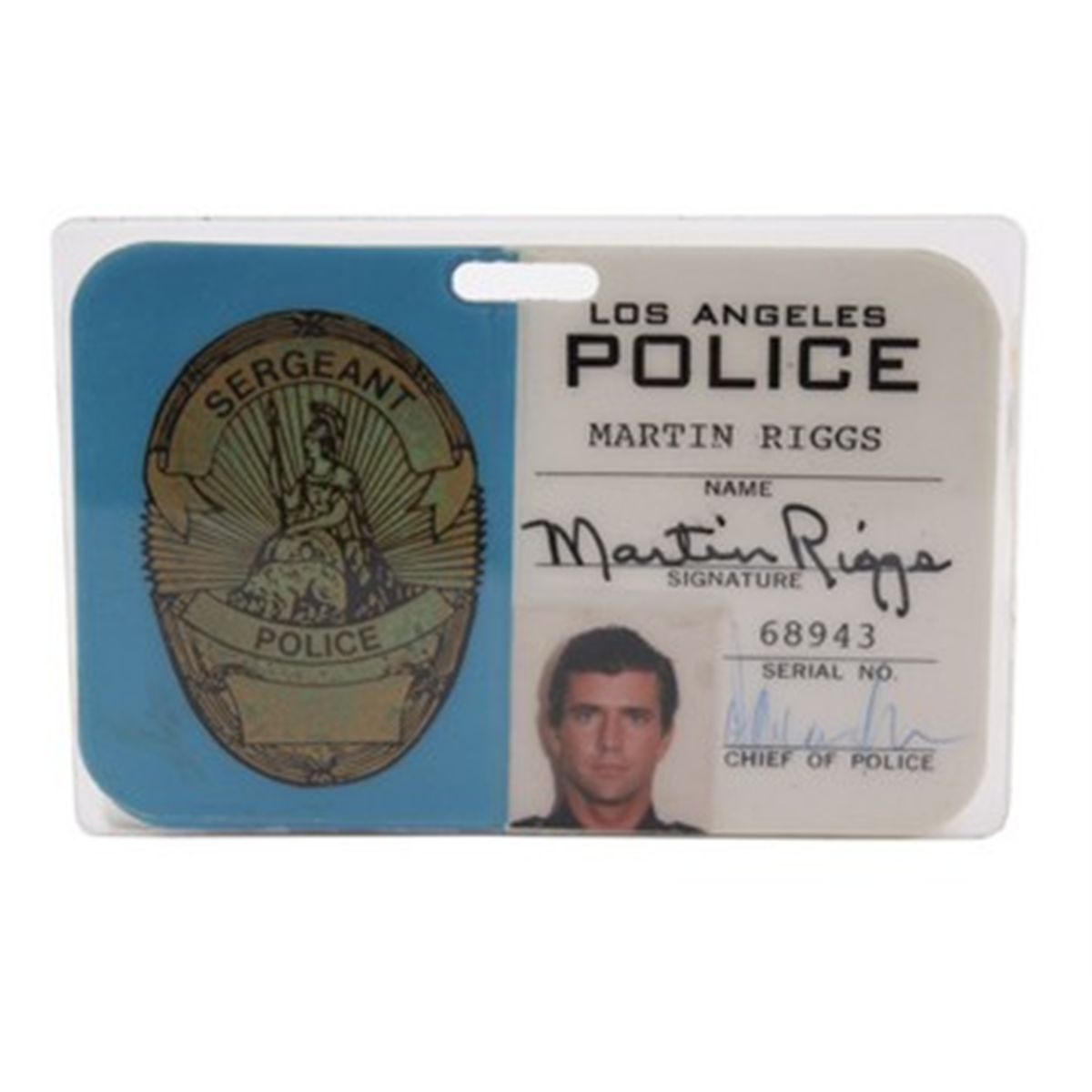 badge lethal weapon