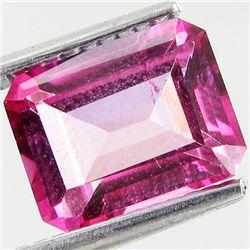 2.77ct Octagon Mystic Pink Topaz (GEM-41783)