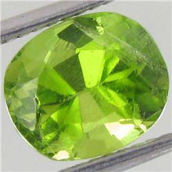 2.5ct Clean Green Peridot Oval (GEM-43441)