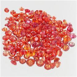 1.03ct Orange Padparascha Sapphire Round Cut Parcel (GEM-38482)