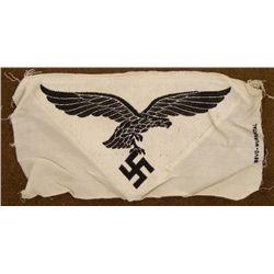 WWII GERMAN LUFTWAFFE BEVO EAGLE & SWASTIKA WUPPERTAL