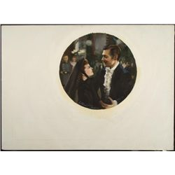 Chamber Civil War Gone With The Wind Orig Art Painting
