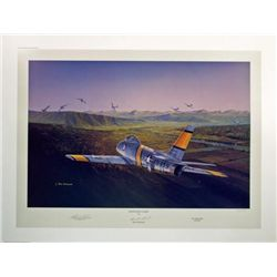 Shooters Odds Buckland F-86 Aviation Art Parr