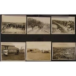 """5 6x8"""" WWI BRITISH PRESS RELEASES-ORIG-WESTERN FRONT"""