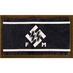 REPRODUCTION SS NAZI ARMBAND