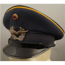West German Air Force Cap with Cap Device & Wings