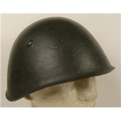 WWII ORIGINAL M1933 ITALIAN FIELD COMBAT HELMET