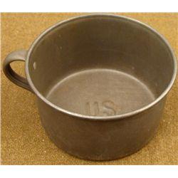 LARGE ORIGINGAL SPANISH-AMERICAN WAR COFFEE CUP