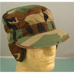 U.S. Army DESERT STORM Camouflage Cap Sz 7.25