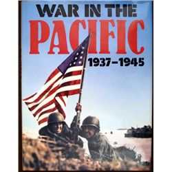 1937-1945 WAR IN THE PACIFIC HARD COVER BOOK