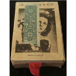 WWII ERA BOX OF CUBAN MATCHES W/MATCHES + CELEBRITIES