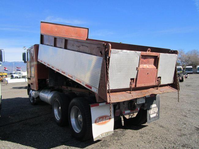 1985 Peterbilt 362 Cab-Over T/A Dump Truck