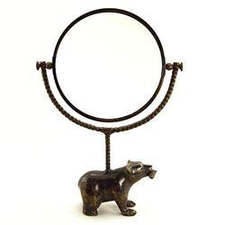 Bear & Fish Vanity Mirror