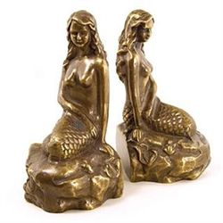 Mermaid Bookends