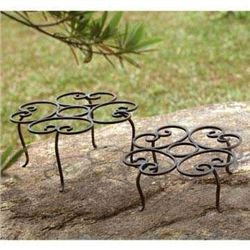 Scroll Planter Stands Set Of 2