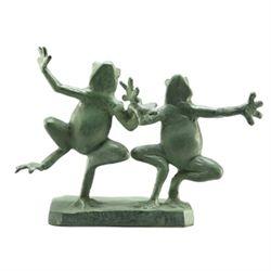 Frogs Sculpture