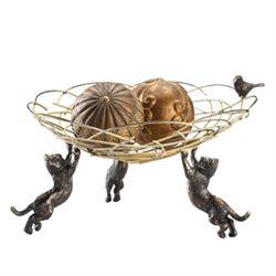 Cat Trio Bowl