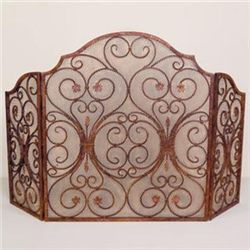 Provencial Fireplace Screen