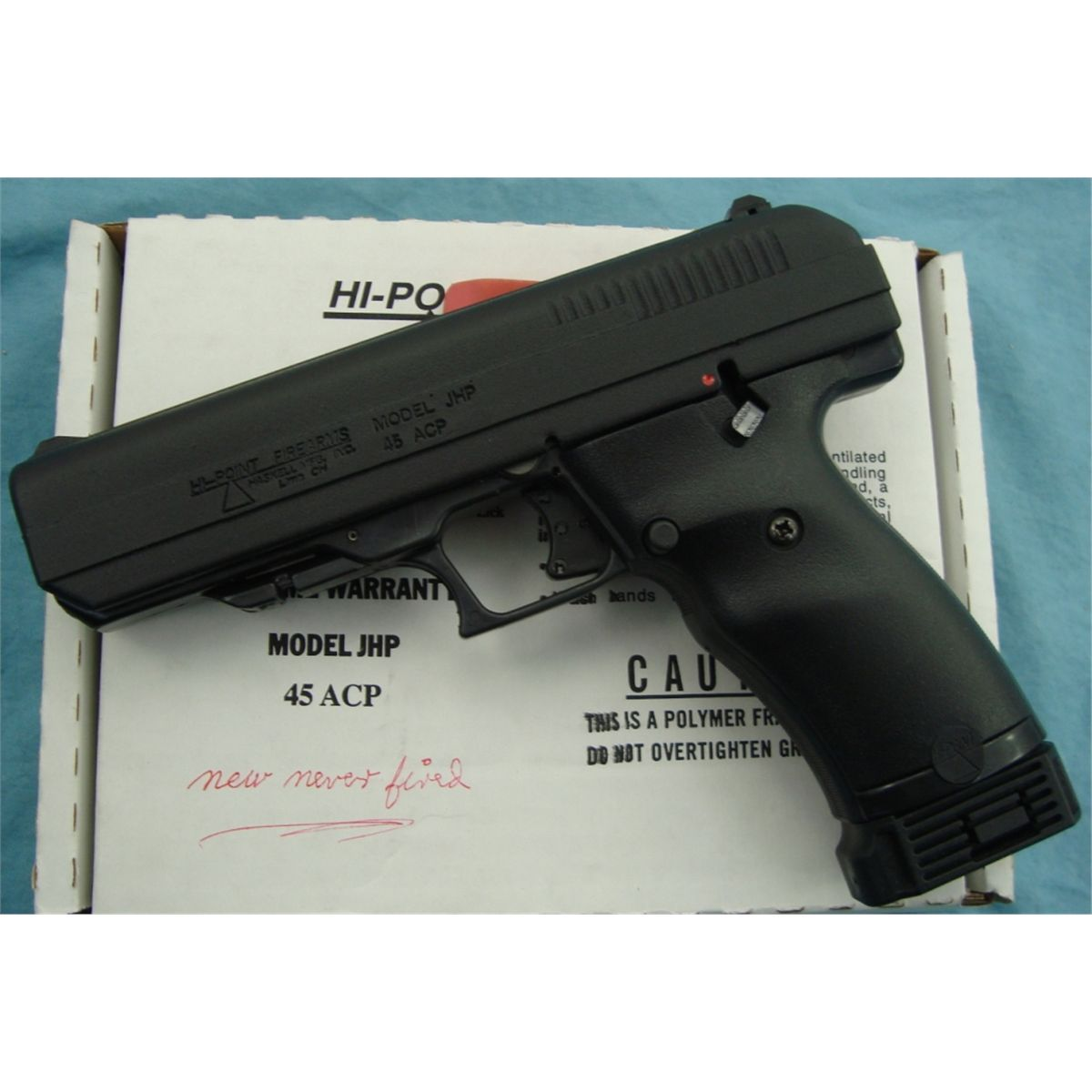 Hi -Point Model JHP 45 ACP Pistol NIB