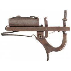 Unique Unmarked 19th Century Percussion Alarm Gun