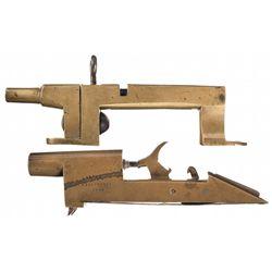 Two Unique Antique Percussion Alarm Guns