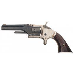Rare Factory Engraved Second Model Manhattan Pocket Revolver
