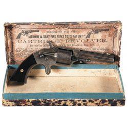 Merwin & Bray Front Loading Pocket Revolver with Original Box