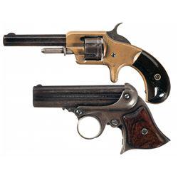 Collectors Lot of Two Antique Derringers