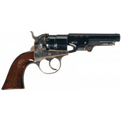 Excellent Cooper Navy Model Double Action Percussion Revolver