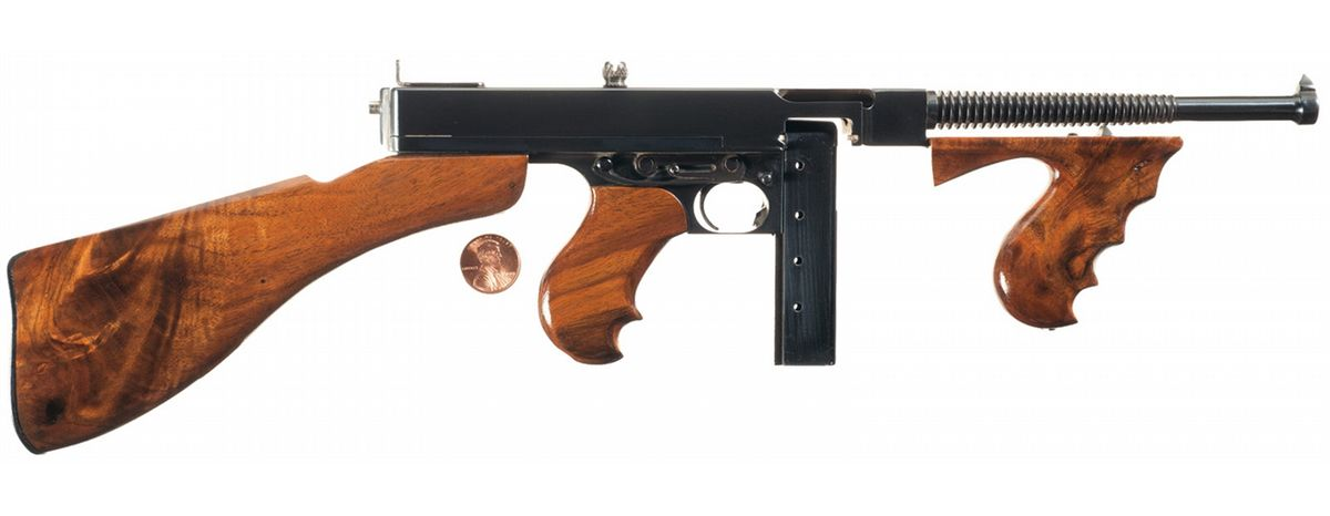 Miniature Thompson Model 1928 Sub-Machine Gun