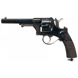 Unique and Rare Thornton Patent Double Action Revolver