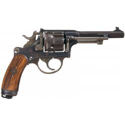 Swiss Model 1882 Double Action Revolver with Stock Attachment Slot