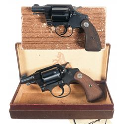 Two Boxed Colt Detective Special 1st Issue Double Action Revolvers